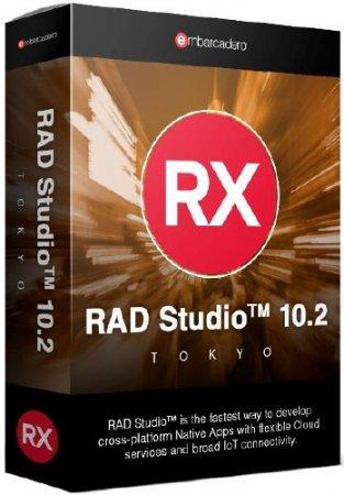 Embarcadero RAD Studio 10.2.1 Tokyo Architect 25.0.27659.1188 + Rus